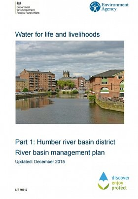 Humber River Basin Management Plan Published