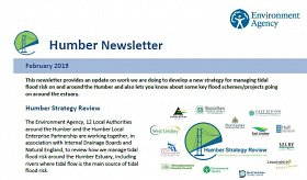 Environment Agency - Humber Newsletter, February 2019